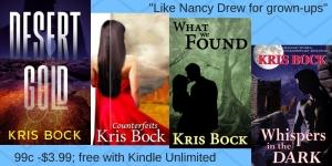 Kris Bock writes novels of romance, mystery, and suspense.