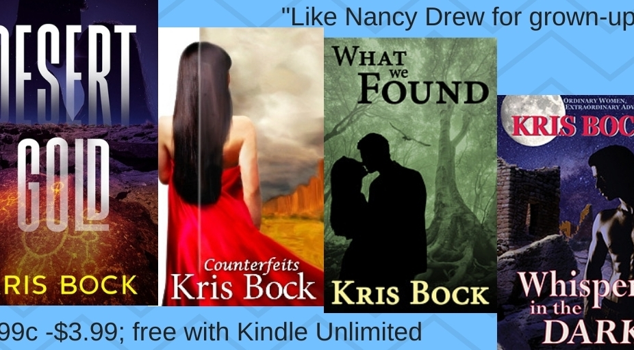 Kris Bock writes novels of romance, mystery, and suspense.